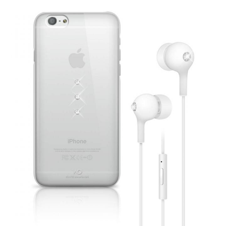 【iPhone6ケース】Crystal Earphone Bundle クリスタル iPhone 6 ケース_0