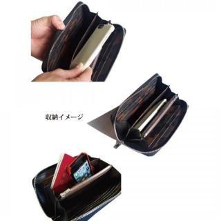 イタリアンレザー 財布 MLC Long Wallet ブラック(ネロ)_2