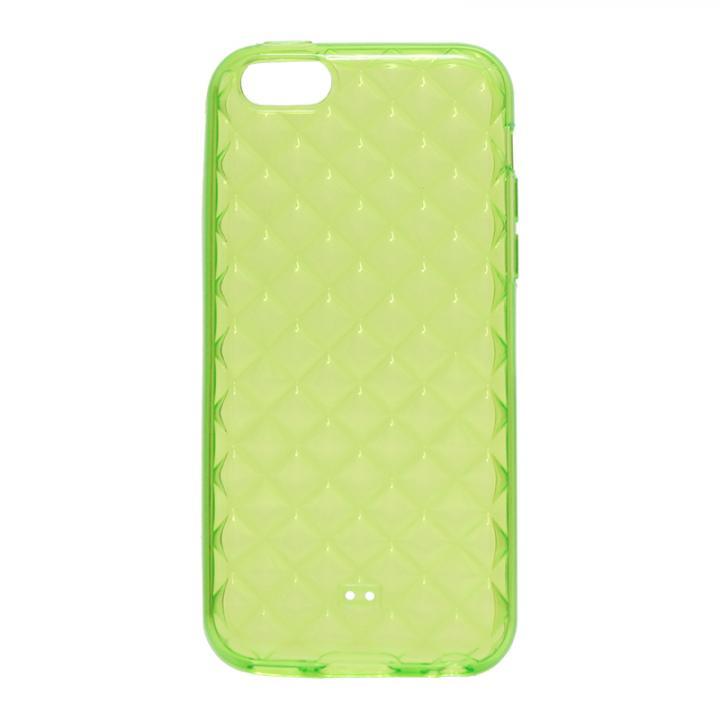 iPhone 5c TPUケース(ダイヤ) グリーン_0