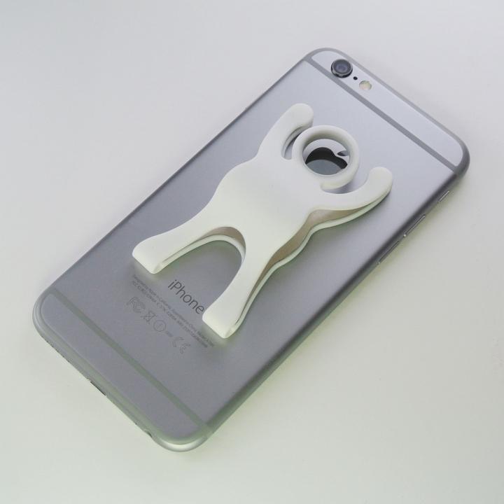 スマートフォンのお助けアイテム ビバヒーロー ホワイト_0