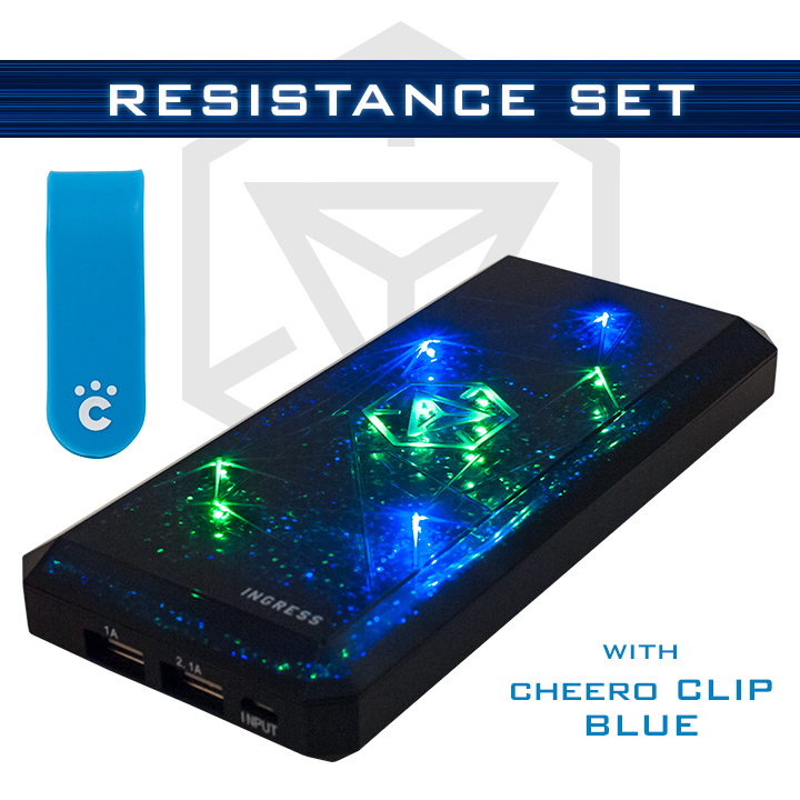 [12000mAh]cheero INGRESS POWER CUBE Resistanceセット_0
