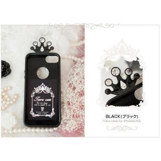ティアラケース ブラック iPhone SE/5s/5ケース