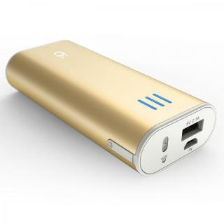 [6000mAh] Power Plus 2 mini モバイルバッテリー ゴールド