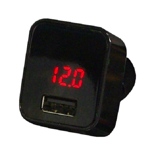 USB2.4Aチャージャー&カーバッテリーチェッカー_0