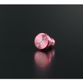 デジモンアドベンチャー イヤホンジャックカバー 光の紋章 ピンク