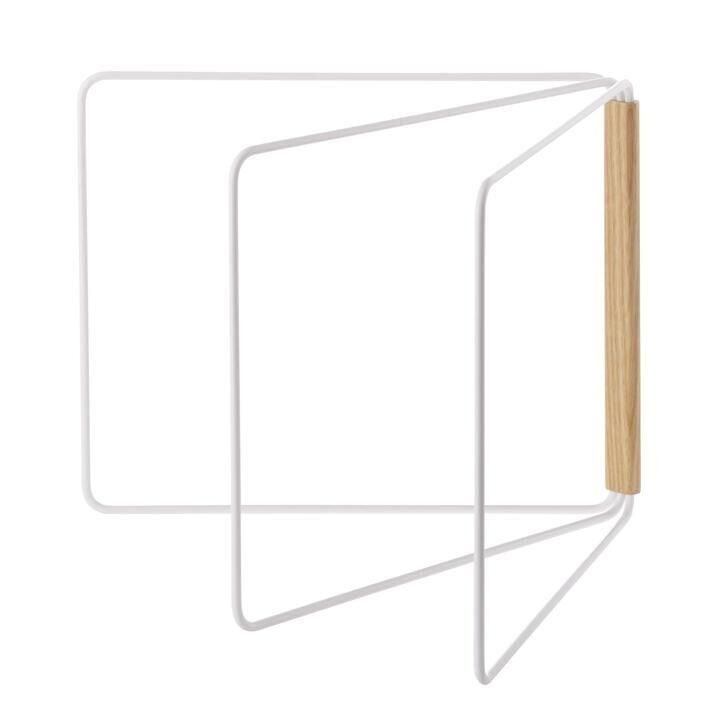 山崎実業 tosca(トスカ) 折り畳み布巾ハンガー トスカ ホワイト【3月下旬】_0