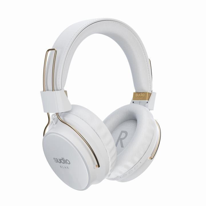 Sudio KLAR Bluetoothヘッドホン ホワイト_0