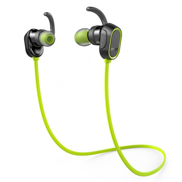 Anker SoundBuds Sport  Bluetooth ネックバンド イヤホン グリーン_0