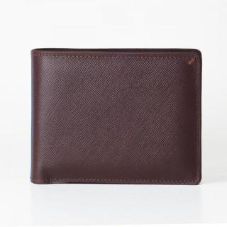 [3000mAh]Muran 二つ折り財布モバイルバッテリー ダークブラウン・サフィアーノ