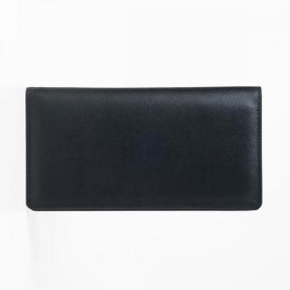 [3000mAh]Stockan 長財布モバイルバッテリー ブラック・サフィアーノ