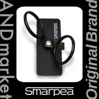 ANDm smarpea スマホリング 落下防止 スタンダードブラック_0