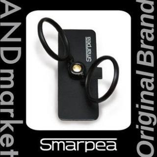 ANDm smarpea スマホリング 落下防止 スタンダードブラック