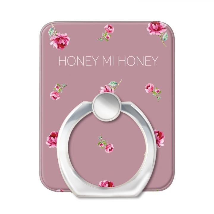HONEY MI HONEY スマホリング 落下防止 PINK ROSE PINK_0