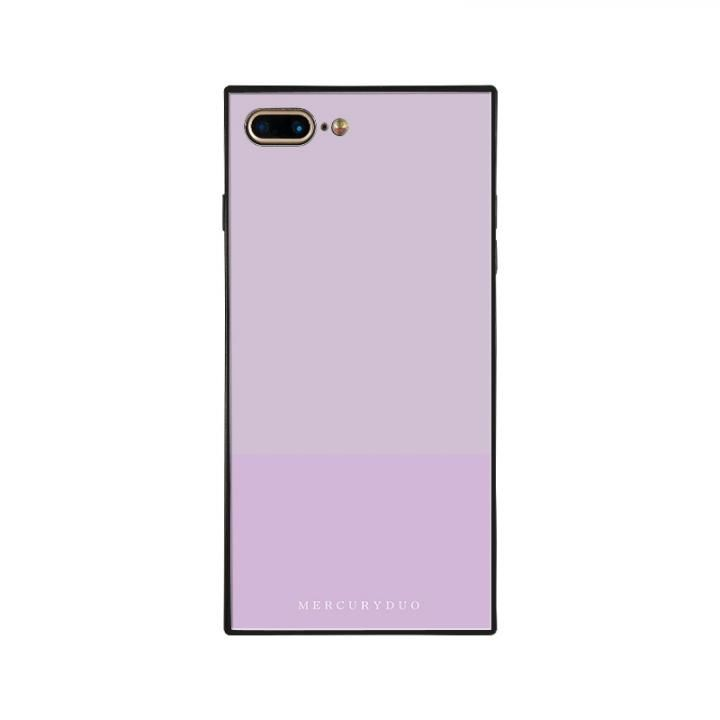 iPhone8 Plus/7 Plus ケース MERCURYDUO BI COLOR 背面ガラスケース LAVENDER iPhone 8 Plus/7 Plus【3月下旬】_0