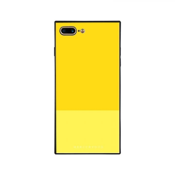 iPhone8 Plus/7 Plus ケース MERCURYDUO BI COLOR 背面ガラスケース LEMON iPhone 8 Plus/7 Plus_0