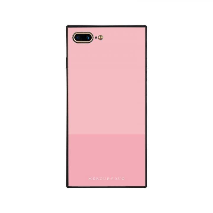 iPhone8 Plus/7 Plus ケース MERCURYDUO BI COLOR 背面ガラスケース PEACH iPhone 8 Plus/7 Plus_0