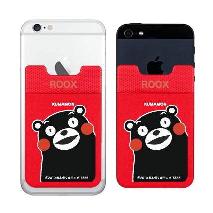 iPhone6/6 Plus ケース スマホにポケット Sinji Pouch くまモンバージョン レッド_0