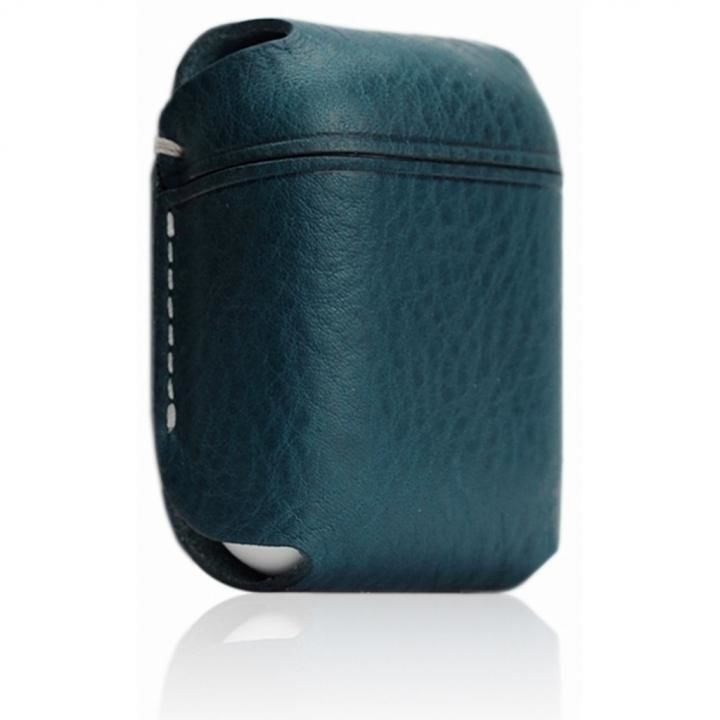 AirPods専用 Minerva Box Leather Case ブルー_0