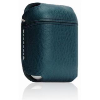 AirPods専用 Minerva Box Leather Case ブルー