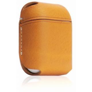 AirPods専用 Minerva Box Leather Case タン
