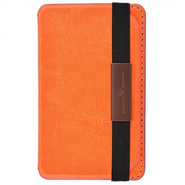 Back Card Pocket バックカードポケット オレンジ_0