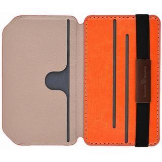 Back Card Pocket バックカードポケット オレンジ_1