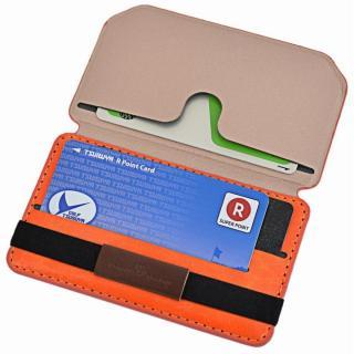 Back Card Pocket バックカードポケット オレンジ_2