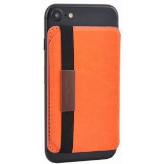Back Card Pocket バックカードポケット オレンジ_3