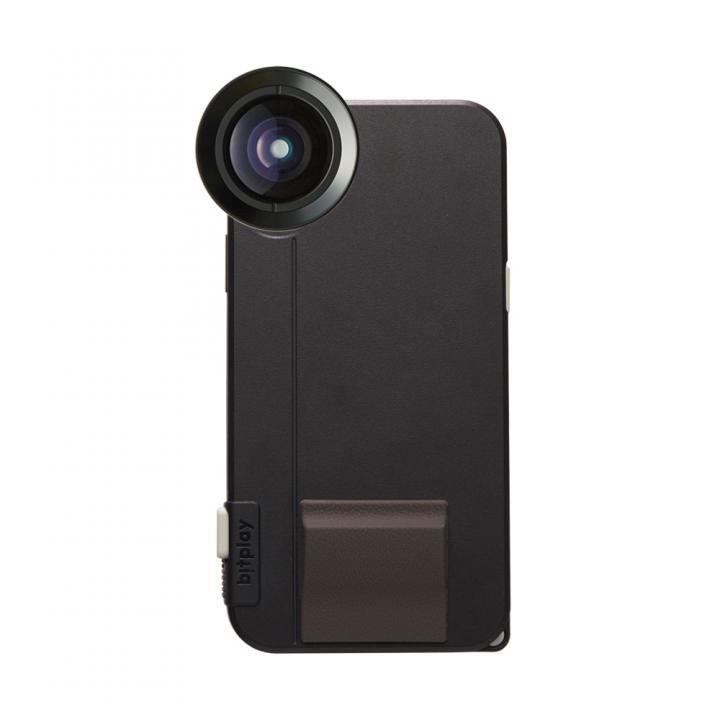 iPhone X ケース SNAP! X Photographer Set(iPhone X用ケース ブラック + プレミアムHDワイドレンズ)_0