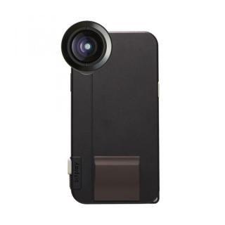 SNAP! X Photographer Set(iPhoneX用ケース ブラック + プレミアムHDワイドレンズ)