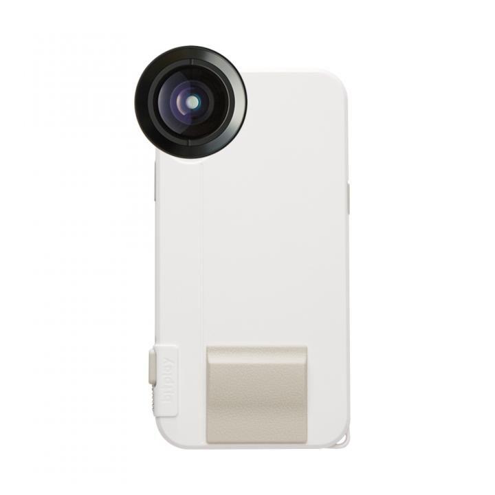 【iPhone Xケース】SNAP! X Photographer Set(iPhone X用ケース ホワイト + プレミアムHDワイドレンズ)_0