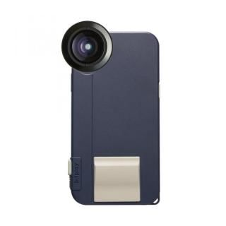 【iPhone X ケース】SNAP! X Photographer Set(iPhone X用ケース ネイビー + プレミアムHDワイドレンズ)