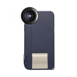 【iPhone X ケース】SNAP! X Photographer Set(iPhoneX用ケース ネイビー + プレミアムHDワイドレンズ)