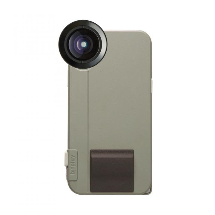 SNAP! X Photographer Set(iPhoneX用ケース カーキ + プレミアムHD望遠レンズ)