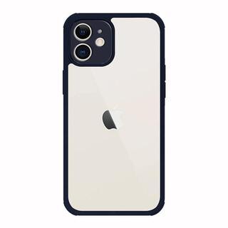 iPhone 12 mini (5.4インチ) ケース Hash feat. 360°ウルトラプロテクトライト ネイビー iPhone 12 mini