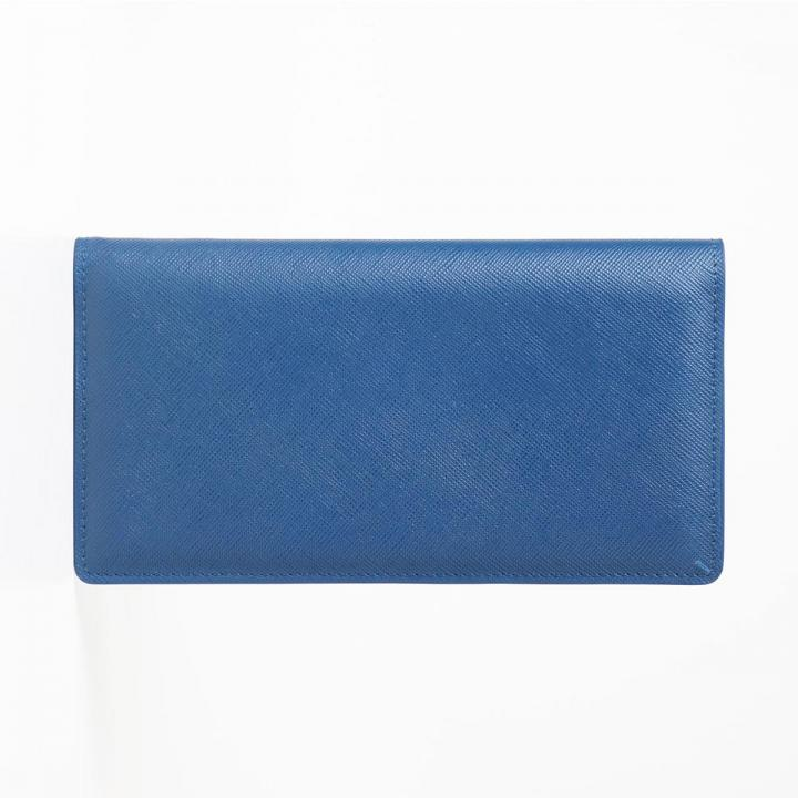 [3000mAh]Stockan 長財布モバイルバッテリー ブルーサフィアーノ_0