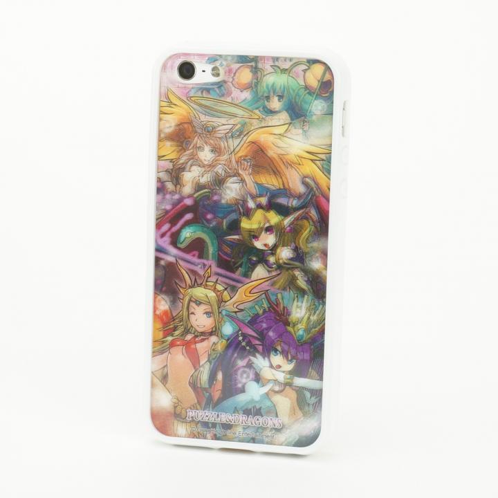 iPhone SE/5s/5 パズドラ 回復系_白 3D Jacket  iPhone5 ※シート2枚付_0
