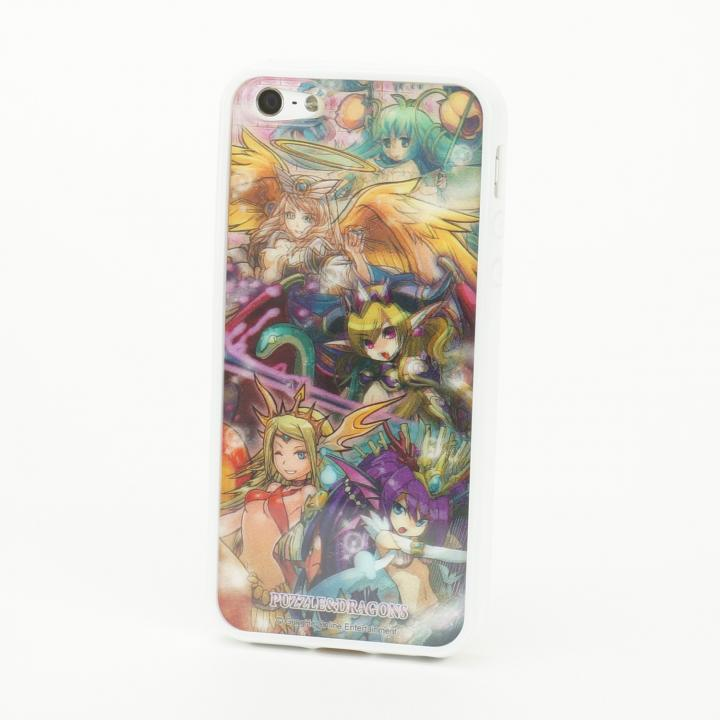 【iPhone SE/5s/5】パズドラ 回復系_白 3D Jacket  iPhone5 ※シート2枚付_0