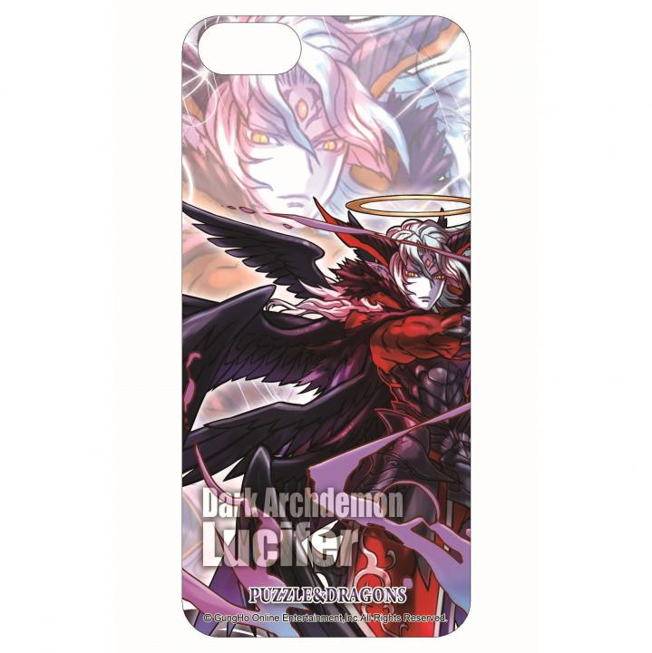 iPhone SE/5s/5 【iPhone SE/5s/5】パズドラ 3D 背面ステッカー ルシファー_0