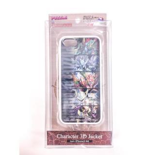 【iPhone SE/5s/5】パズドラ 3Dキャラケース 魔剣士_白 ※シート2枚付