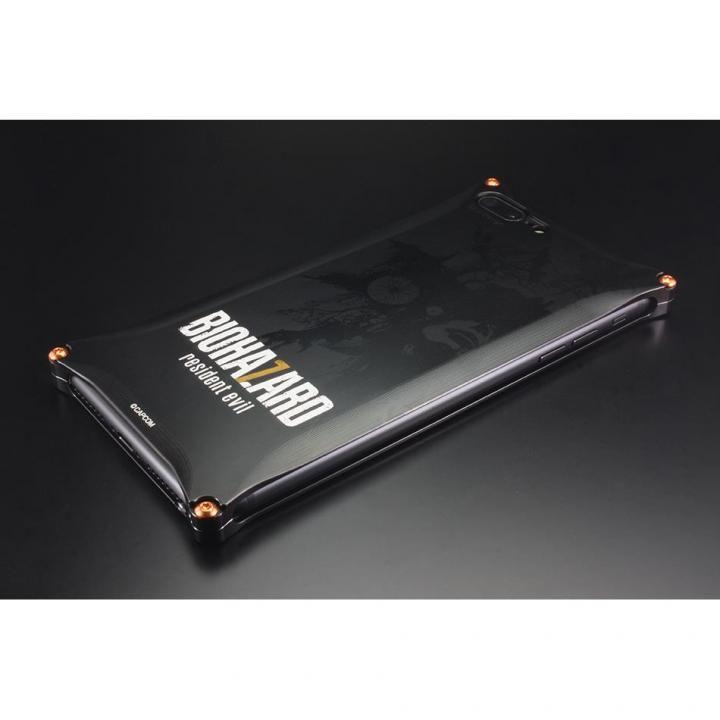 【iPhone8 Plus/7 Plusケース】BIOHAZARD×GILDdesign ソリッドケース ブラック iPhone 8 Plus/7 Plus_0