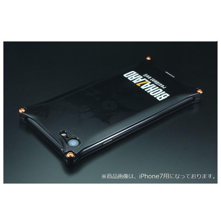 iPhone8/7 ケース BIOHAZARD×GILDdesign ソリッドケース ブラック iPhone 8/7_0