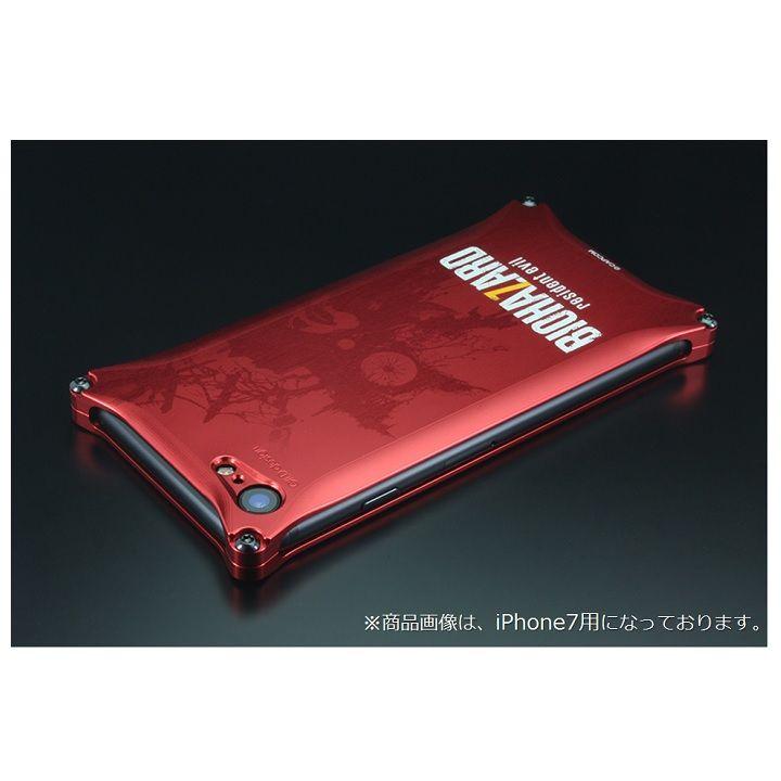 iPhone8 Plus/7 Plus ケース BIOHAZARD×GILDdesign ソリッドケース レッド iPhone 8 Plus/7 Plus_0