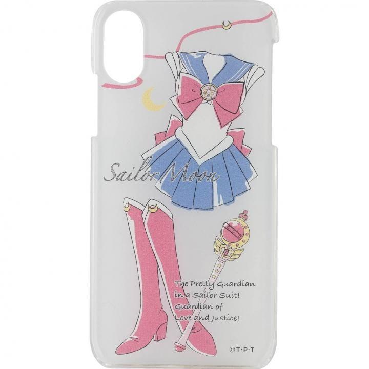 【iPhone Xケース】美少女戦士セーラームーン キャラクタージャケット セーラームーン iPhoneX_0