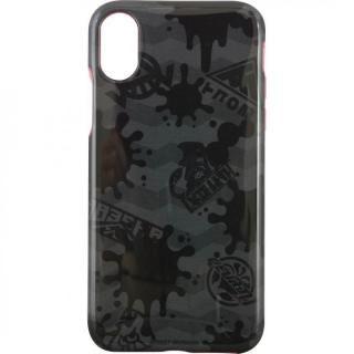 スプラトゥーン キャラクタージャケット インク×グレー iPhone X【4月中旬】