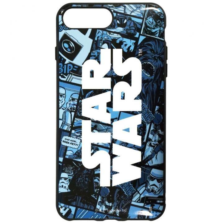iPhone8 Plus/7 Plus ケース STAR WARS IIII fitR コミック・ブルー iPhone 8 Plus/7 Plus/6s Plus/6 Plus_0