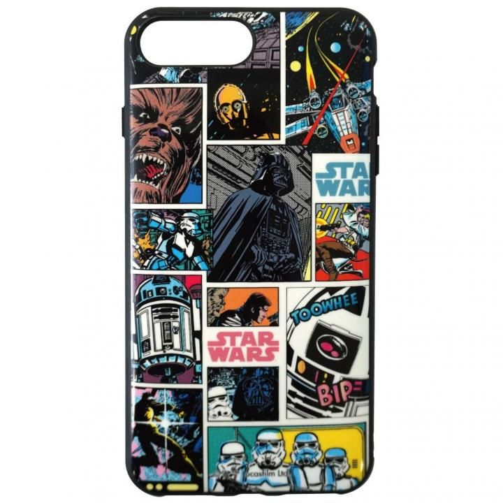 iPhone8 Plus/7 Plus ケース STAR WARS IIII fitR コミック・カラー iPhone 8 Plus/7 Plus/6s Plus/6 Plus_0