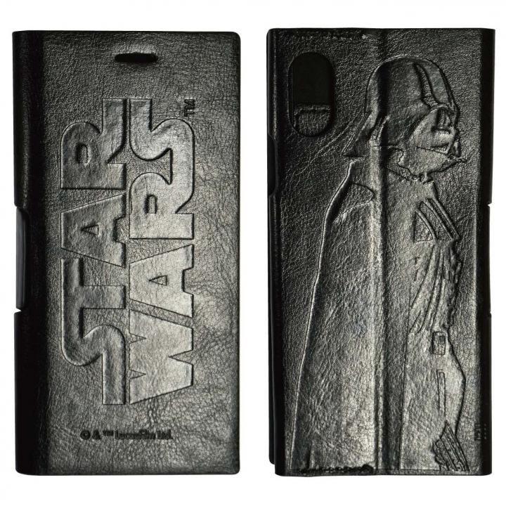 【iPhone Xケース】STAR WARS Ultra Slimフリップカバー ブラック iPhoneX_0