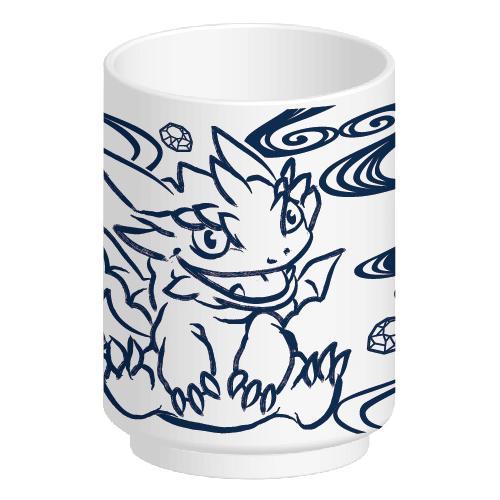 パズドラ 湯のみ(ゴールドドラゴン&メタルドラゴン)
