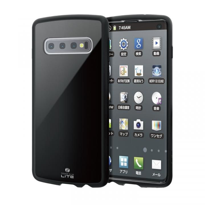 Galaxy S10 TOUGH SLIM LITE ブラック_0